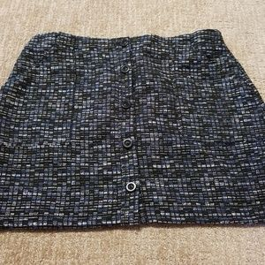 BNWT banana republic tweed skirt